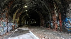 You Won't Want To Explore West Virginia's Most Haunted Tunnel Alone Or At Night
