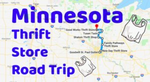 This Bargain Hunters Road Trip Will Take You To The Best Thrift Stores In Minnesota