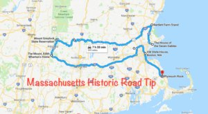 This Road Trip Takes You To The Best Historical Sites In Massachusetts