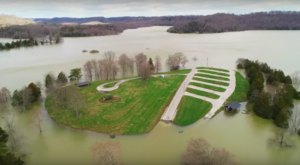 Kentucky's Second Largest Lake Was Flooded Like Never Before And You Need To See It