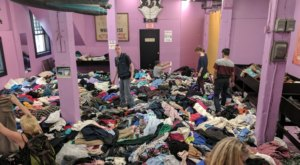 The Quirky Massachusetts Thift Shop Where You Can Climb A Mountain Of Vintage Clothes