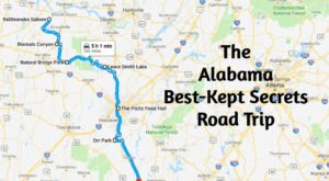 Experience Alabama's Best-Kept Secrets On This Remarkable Road Trip