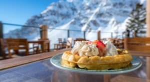 The Best Waffles In Utah Are Waiting For You 8,800 Feet In The Air