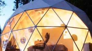 Sleep Under The Sprawling Texas Night Sky In This Secluded Riverside Dome