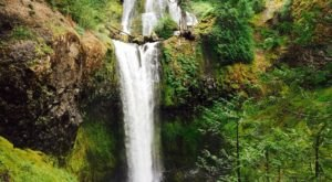 The Underrated Waterfall Hike In Washington That's Calling Your Name