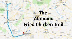 7 Stops Everyone Must Make Along Alabama's Fried Chicken Trail