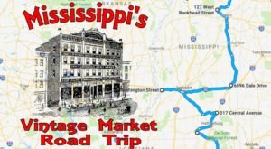 Follow This Route To The 10 Best Vintage Markets In Mississippi