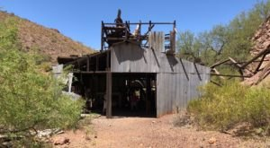 Take This Hidden Trail To One Of The Most Well-Preserved Abandoned Mines In Arizona