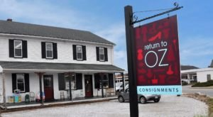The Two-Story Thrift Shop In Maryland That's Almost Too Good To Be True