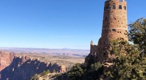 You Can Gaze 100 Miles Into The Grand Canyon At This Unique Watchtower In Arizona