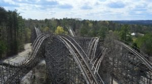 Ride One Of The Best Wooden Roller Coasters In The World Right Here In Alabama
