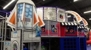 The Space-Themed Indoor Playground In Texas That's Insanely Fun