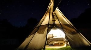 Spend The Night Under A Teepee At This Unique Missouri Campground