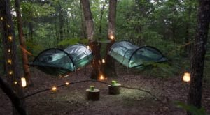 Escape To The Woods For An Unforgettable Night Of Camping At This Airbnb In Missouri