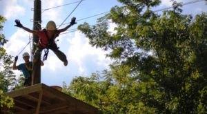 The Zipline Adventure Near Cincinnati Where You Can Soar Through The Trees
