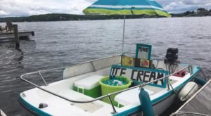 The One Lake In New Jersey Where An Ice Cream Boat Docks Every Weekend