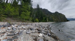 This Marvelous Little Trail In An Idaho Forest Leads You To A Towering Geologic Wonder