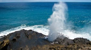 This Hawaii Blowhole Is The Coolest Thing You'll Ever See For Free
