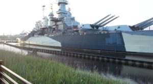 A Night Aboard This Haunted North Carolina Battleship Isn't For The Faint Of Heart