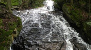 Take This Easy Trail To An Amazing 125-Foot Waterfall In Vermont