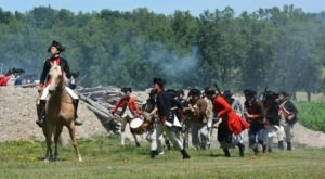 The French And Indian War Comes To Life At This Huge Battle Reenactment In New York