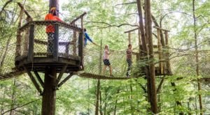 The Middle Of The Woods Adventure In Tennessee With Just The Right Amount Of Thrill