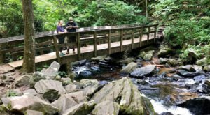 You'll Fall In Love With The Fairy Stairs And Footbridges On This North Carolina Waterfall Hike