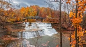 Adventure Seekers Can't Resist This Waterfall Park Near Cleveland