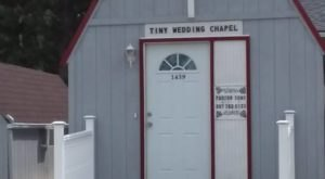 The Inconspicuous Wedding Chapel In Wyoming You Won't Find Anywhere Else In The World