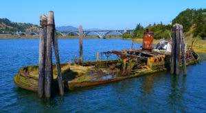 You'll Want To Get One Last Look At this Oregon Shipwreck Before It's Gone For Good