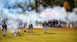The Revolutionary War Comes To Life At This Huge Battle Reenactment In South Carolina