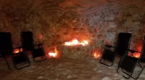 You'll Want To Spend All Day Inside This Gorgeous Himalayan Salt Cave In Ohio