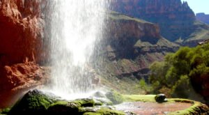 Walk Behind A Waterfall For A One-Of-A-Kind Experience In Arizona
