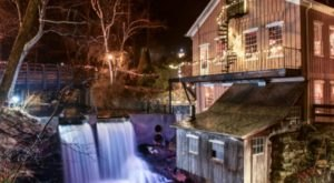 The Breathtaking Waterfall Restaurant In Connecticut Where The View Is As Good As The Food
