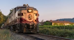 You Can Solve A Murder Mystery On This West Coast Wine Train