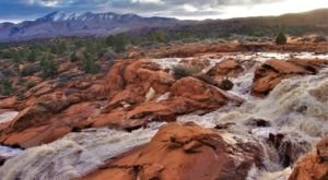 It's Extremely Rare To See These Utah Waterfalls, So Don't Miss Them Right Now