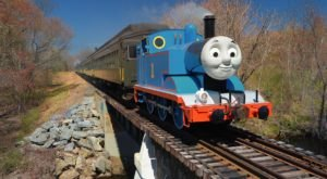 Everyone In Your Family Will Love Thomas The Tank Engine's Themed Train Ride Through Connecticut
