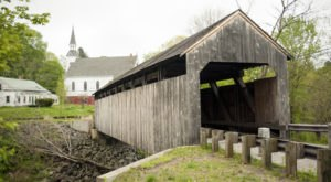 6 Undeniable Reasons To Visit The Oldest Covered Bridge In Massachusetts