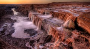Arizona's Chocolate Waterfall Is Truly A Sight To See Before It's Gone