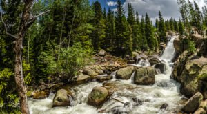 This Short And Sweet Waterfall Hike In The Rocky Mountains Is An Adventure For Everyone