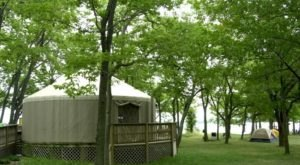 These 8 Ohio Campgrounds Have Comfortable And Spacious Yurts You Can Stay In