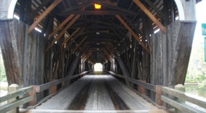 The Story Of New Hampshire's Most Cursed Covered Bridge Will Chill You To The Bone