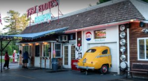 This Restaurant With Curbside Service In Maine Will Remind You Of The Good Old Days