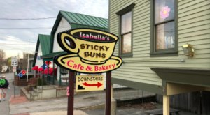 Devour The Best Homemade Sticky Buns At This Bakery In Maine