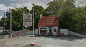 This Former Gas Station Has Now Been A Favorite Local Pizza Parlor For Over 40 Years