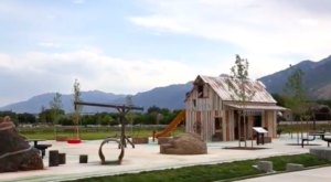 The Farm-Themed Playground In Utah That's Insanely Fun