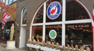 The British-Themed Restaurant That Will Whisk You Across The Pond Without Ever Leaving Michigan