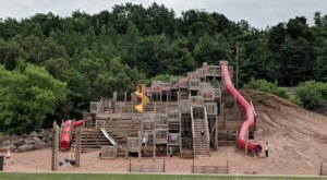 The Chutes And Ladders Playground In Michigan That's Perfect For A Family Adventure