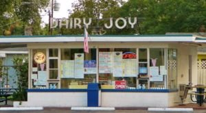 Dairy Joy In Florida Has Been Scooping & Swirling Soft Serve Since 1958