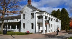History Comes To Life At This Authentic 1800s Restaurant In Michigan